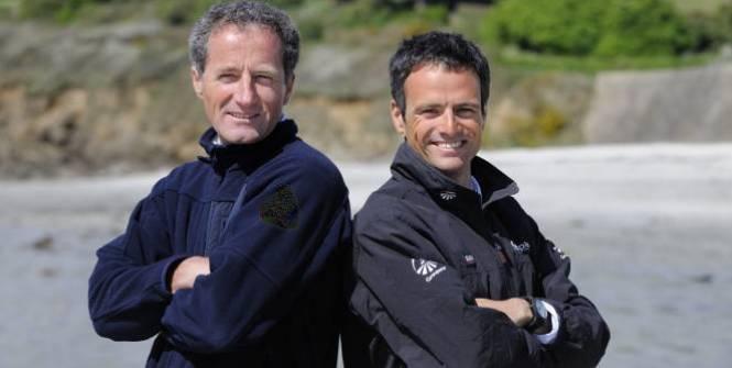 Michel Desjoyeaux e Franck Cammas guideranno il team francese nella prossima Coppa America