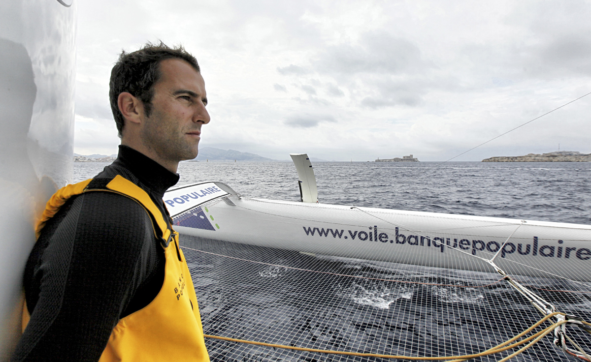 Armel Le Cleac'h. Photo Sea Launay(BPCE