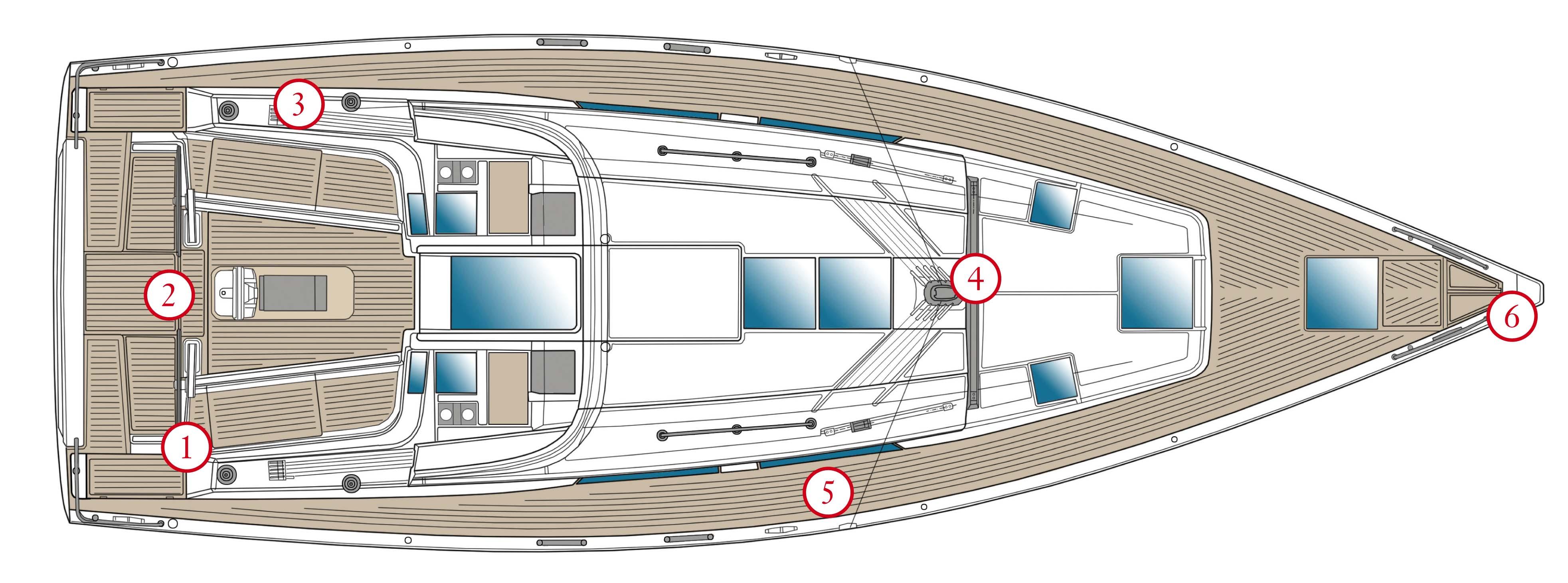La barca sempre pi easy for Disegni di coperta inclusi