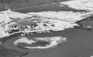 Il marina Hannibal negli anni '60