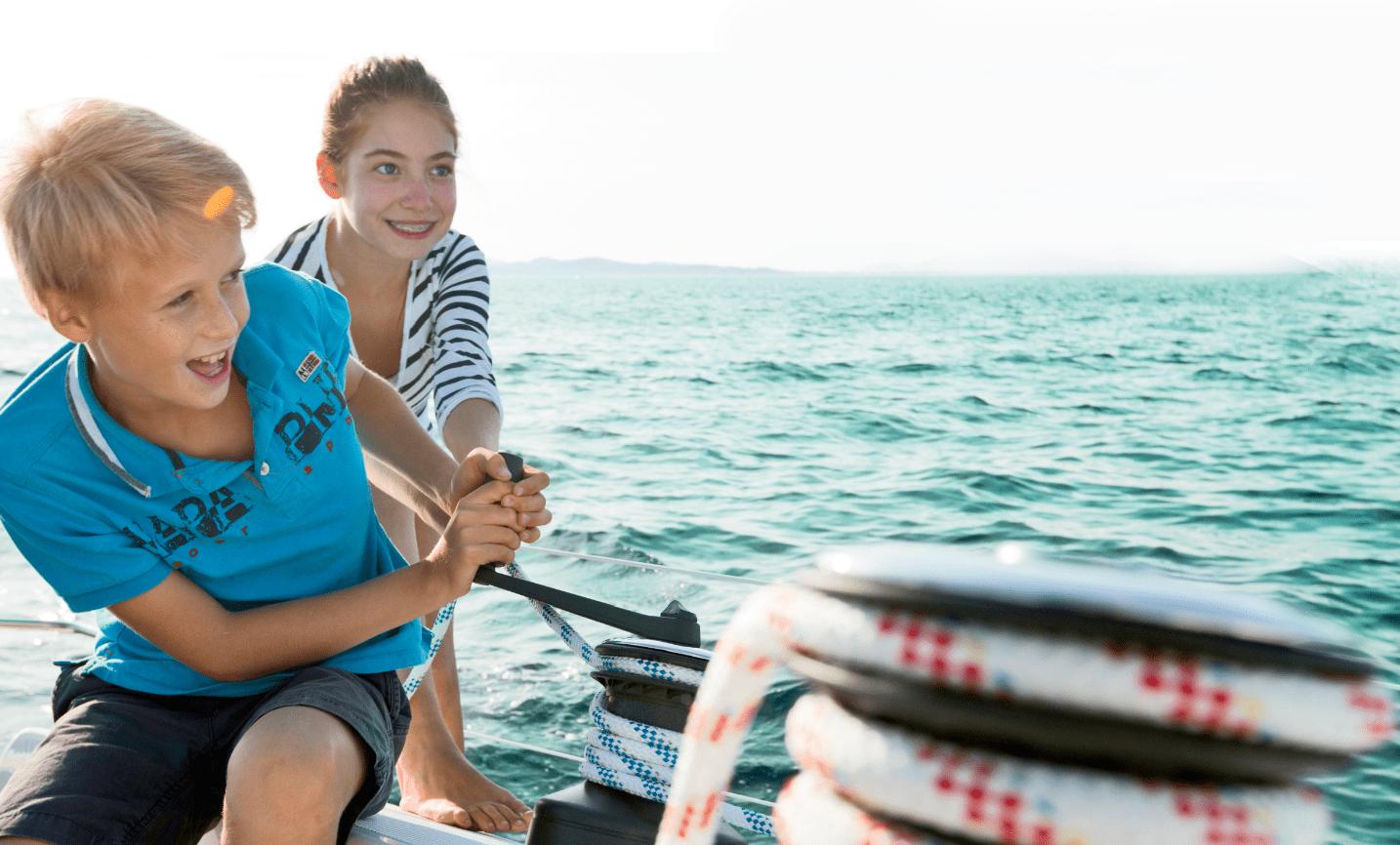 Bimbi a bordo tutti i consigli giusti del pap medico for Accessori per barca a vela