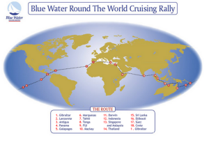 blue water rally