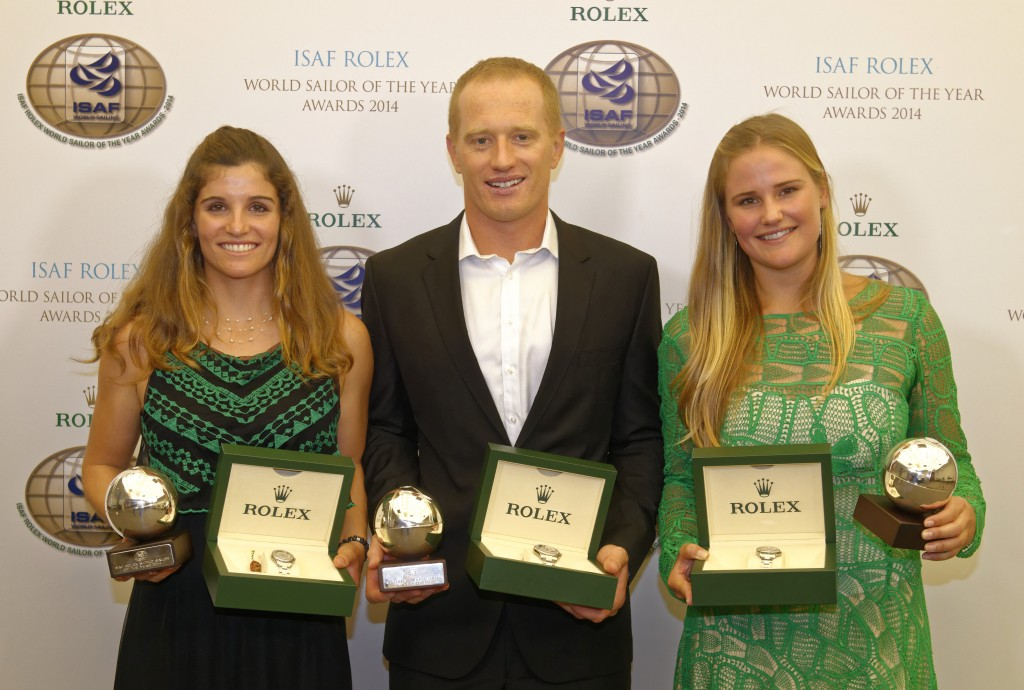 ISAF Rolex World Sailor of the Year Awards 2014