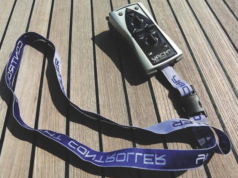 Lo Yacht Controller Smart ha una sola banda di trasmissione e un multiprocessore che permette un doppio controllo su ogni funzione, rendendo impossibili comandi indesiderati in caso  di guasto.