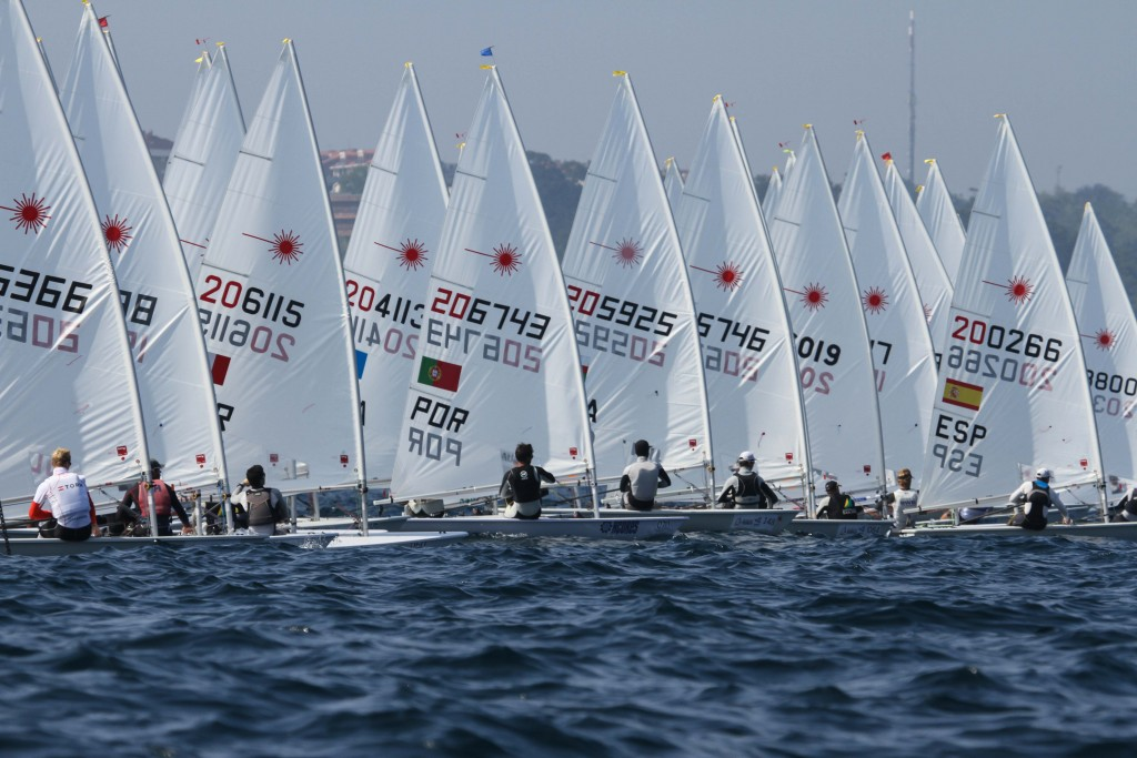 Santander-2014-Laser-Fleet-Start