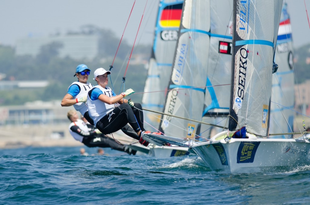 Day 5 of the 49er Europeans Porto 2015
