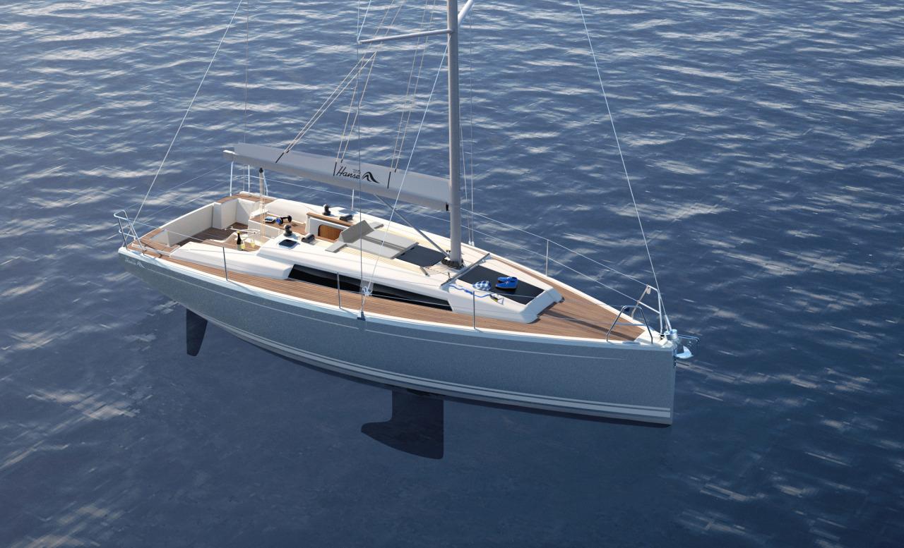 Anteprima Nuovo Hanse 315 Una Barca Per Tutti