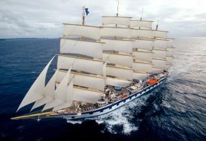 Il Royal Clipper, l'attuale tall ship più grande del mondo