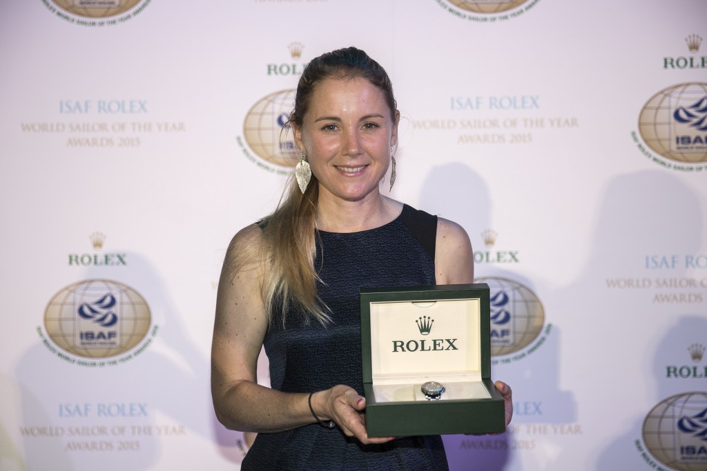 Winner Sarah Ayton (GBR)