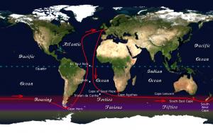 Il percorso del Golden Globe