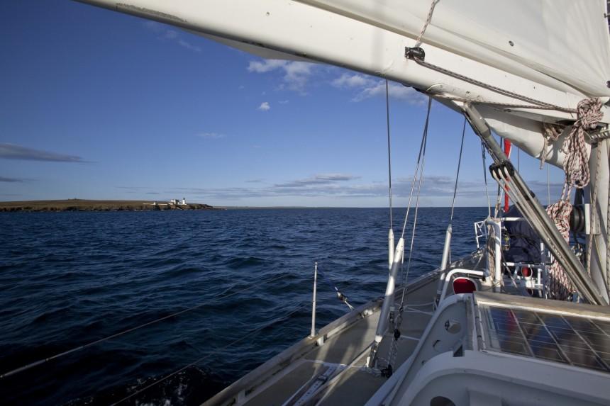 In navigazione alle Orcadi