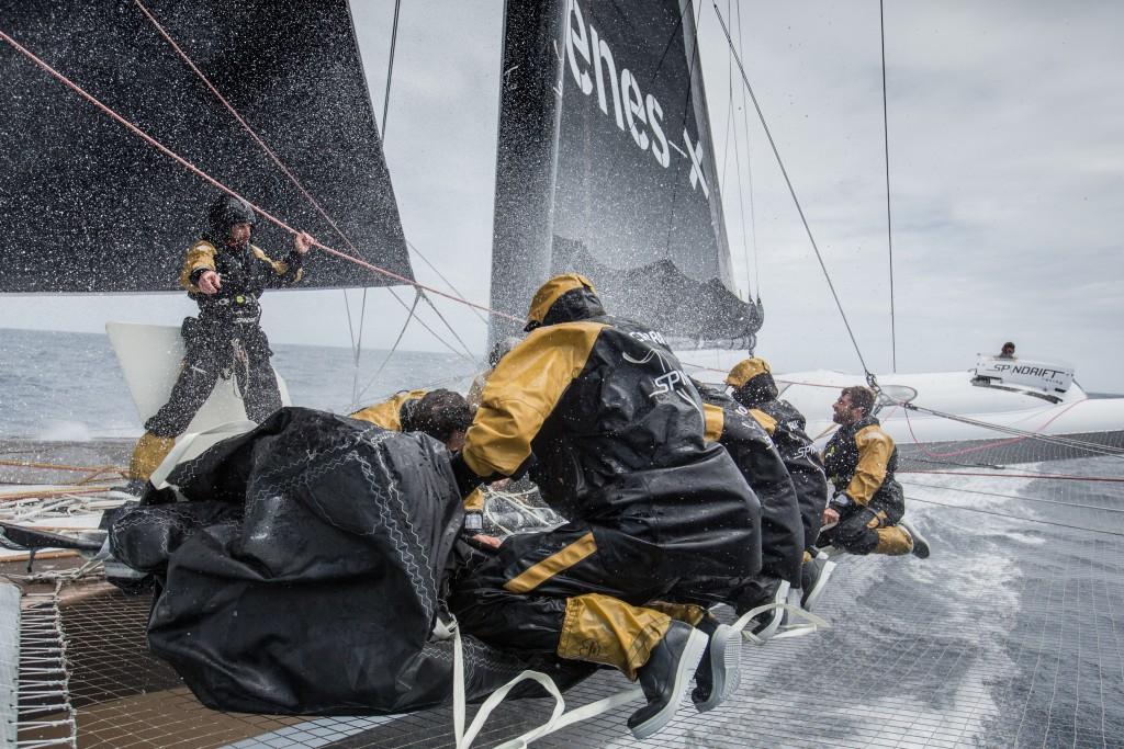 Spindrift 2, Trophée Jules Verne, 2015
