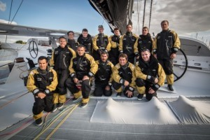 Il team di Spindrift
