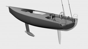 Atalanta 2015 CFR Original hull and keel