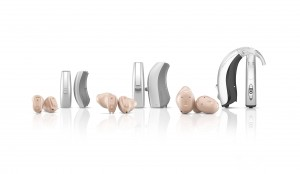 UNIQUE hearing aid family,transparent background