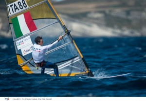 Classe RS:X - ITA 88 Mattia Camboni - Foto Fabio Taccola©