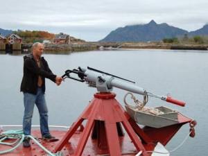 Un cacciatore di balene norvegese