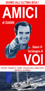 L'icastica locandinda ideata dai fan di Gianin VI