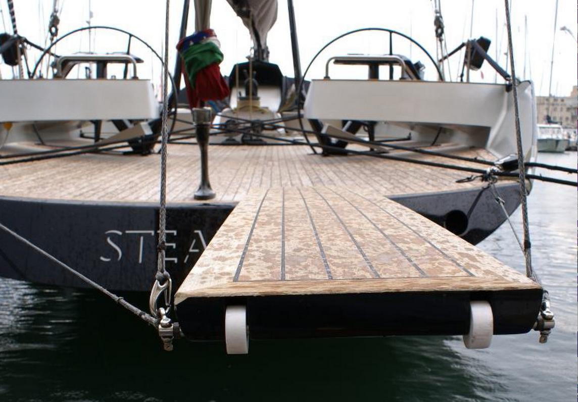 Passerella tre vostre furbate da imitare for Accessori per barca a vela