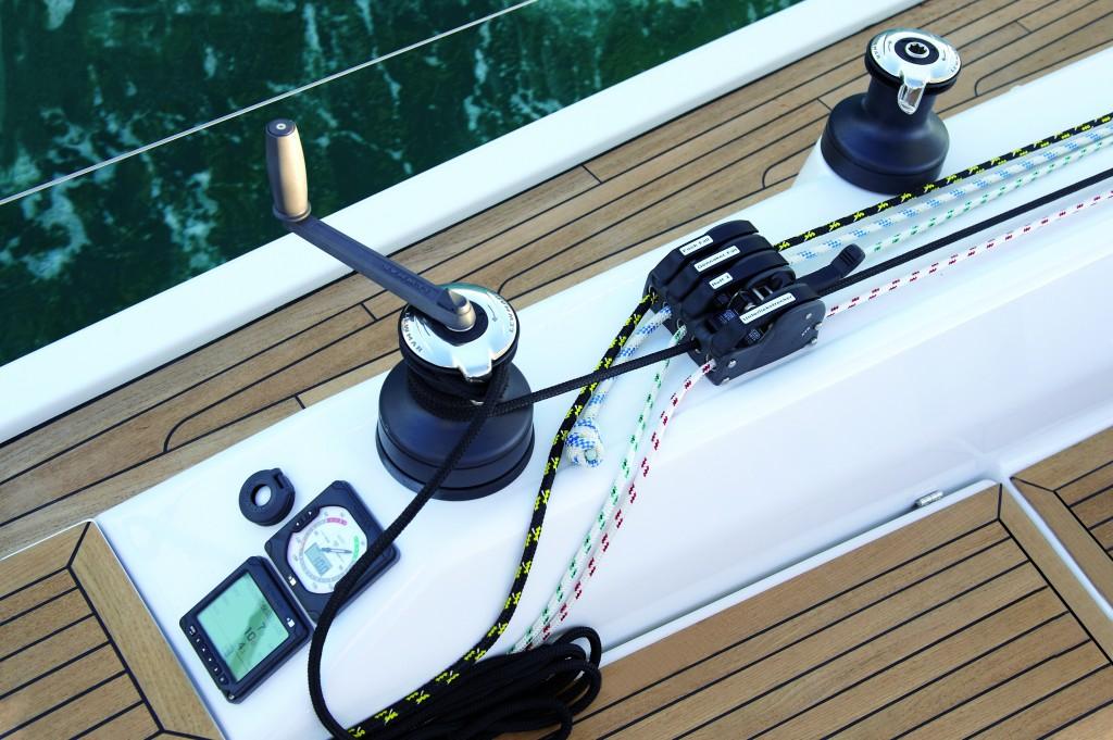 Hanse 415, Prototyp, Fotoshooting Mallorca Februar 2012