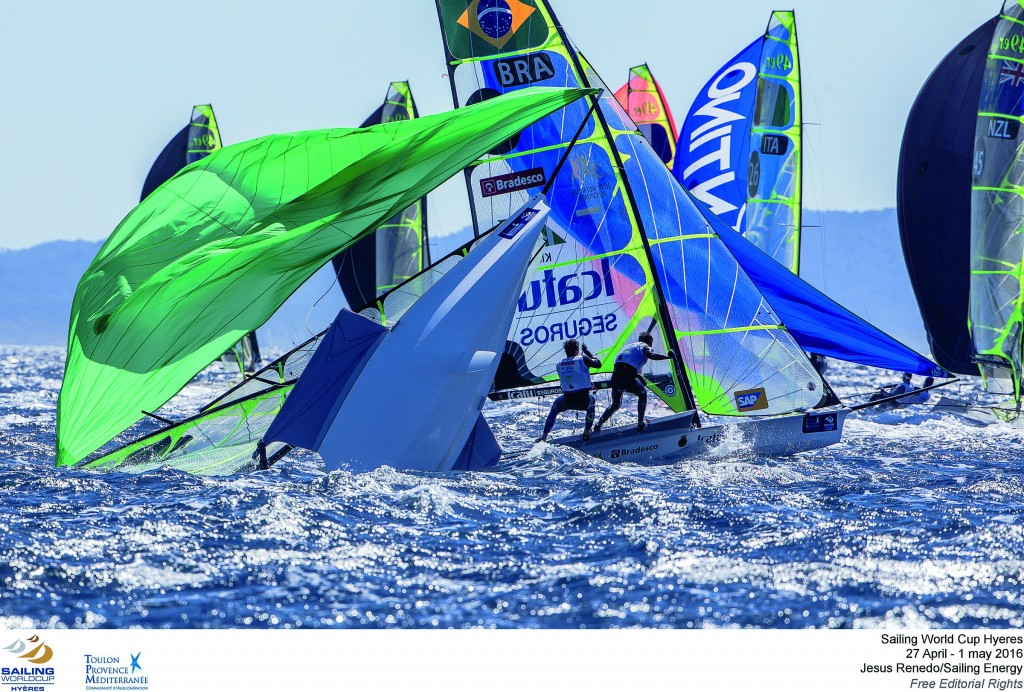 The Sailing World Cup  Hyres TPM