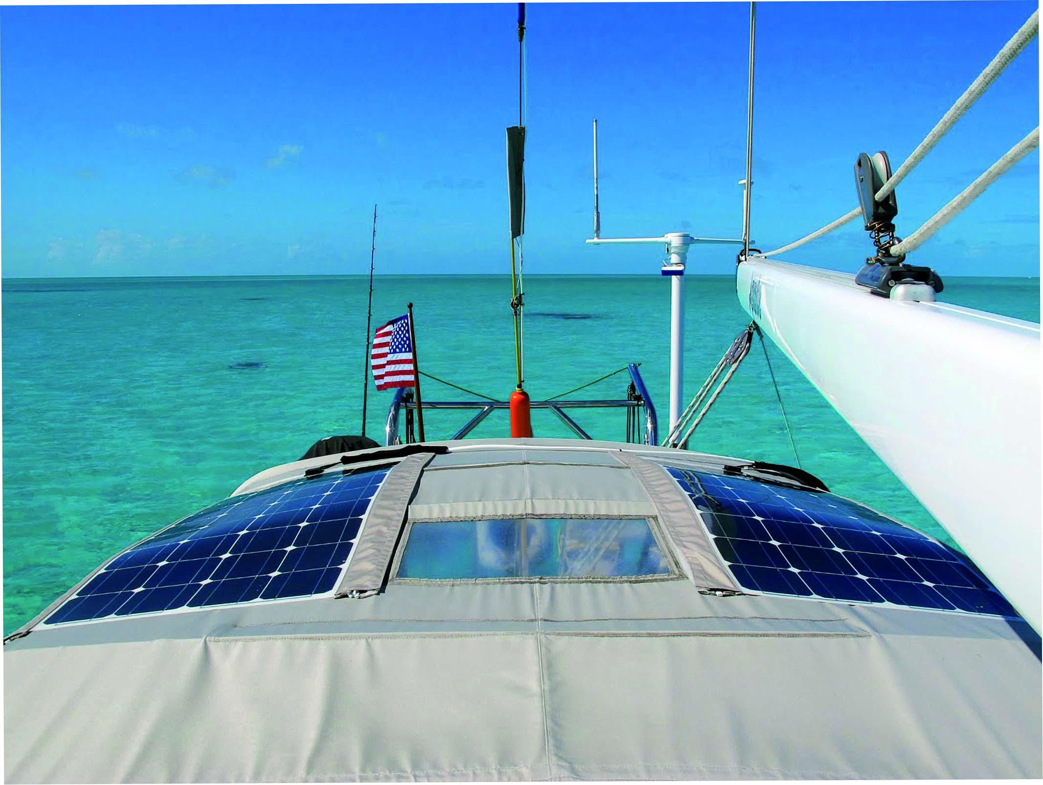Pannello Solare Barca A Vela : State pensando di installare i pannelli solari a bordo
