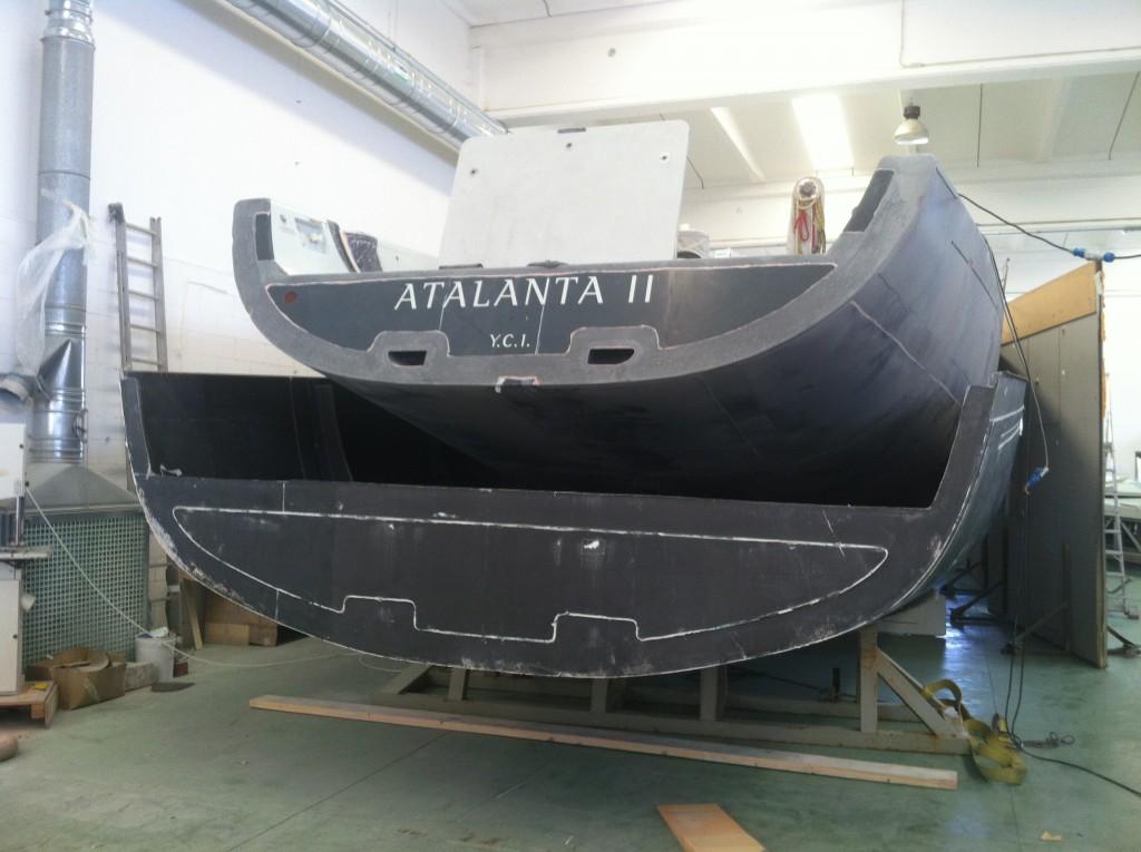 """La """"nuova poppa"""" di Atalanta II"""