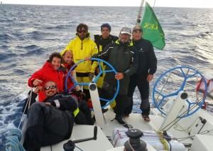L'equipaggio di Dajenu-Mataf