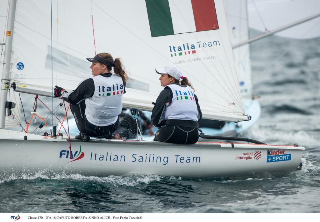 Classe 470 - ITA 16 CAPUTO ROBERTA-SINNO ALICE - Foto Fabio Tac