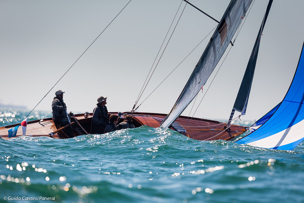 Cowes, Isle of Wight, UK - 19 July 2016 - Panerai Classic Yachts Challenge 2016 British Classic Week 2016 Strega Ph: Guido Cantini / Panerai / SeaSee.com