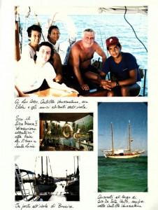 Il carnet del viaggio degli Albeggiani tratto dal GdV di ottobre 1987