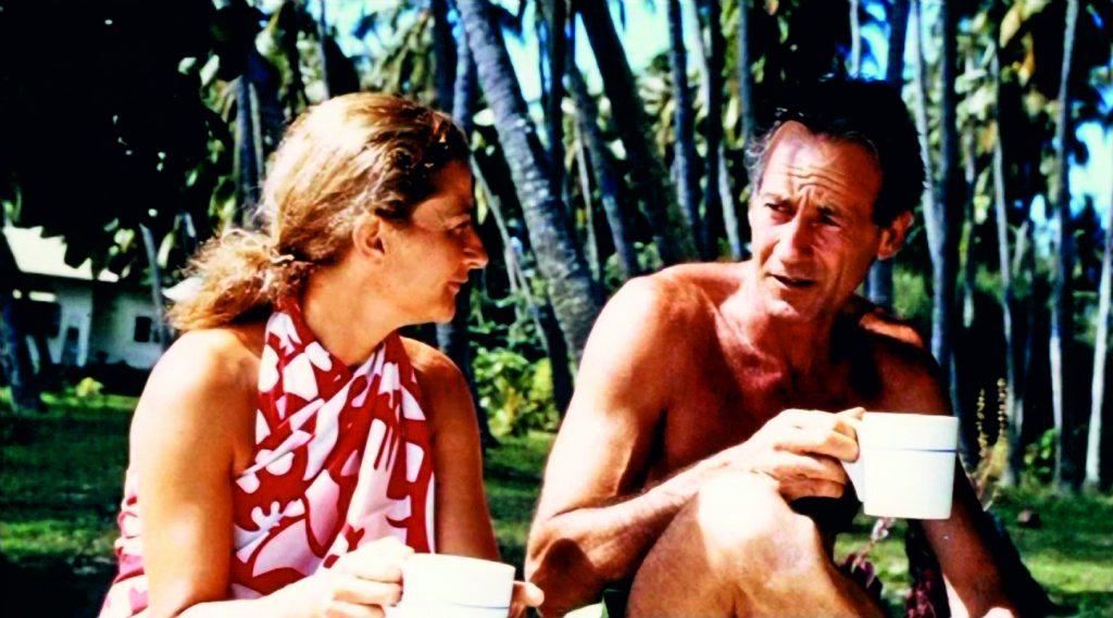 moitessier con moglie tahiti 1969