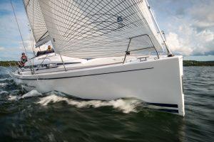 Arcona 380 - test på Baggensfjärden