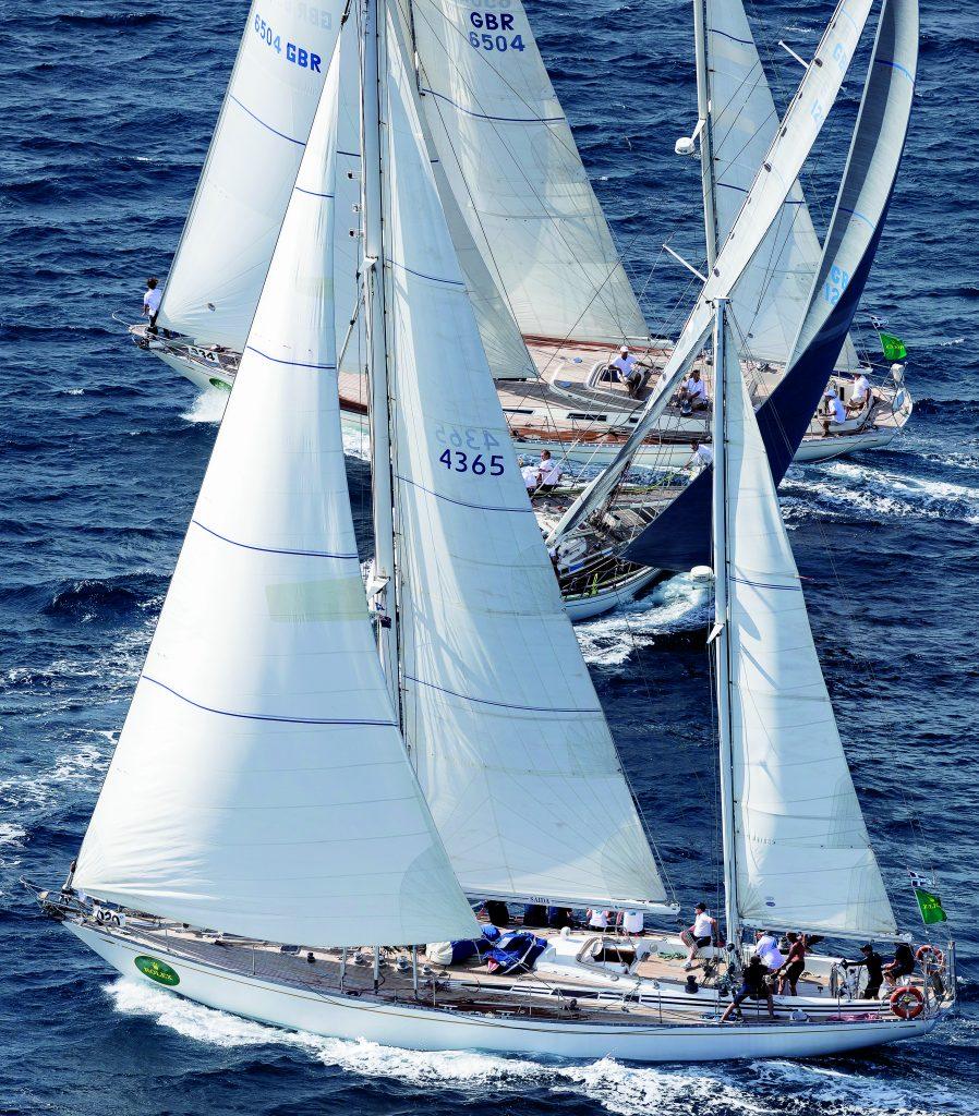 SAIDA, Bow n: 20, Sail n: 4365, Class: C, Model: 65 S&S, Owner: Jürg Schneider & Benno Schnider SARABANDE, Bow n: 21, Sail n: GBR 1238, Class: C, Model: 47 S&S, Owner: Rob Mably VENATOR, Bow n: 34, Sail n: GBR 6504 L, Class: C, Model: 65 S&S, Owner: John & Emma Sims-Hilditch