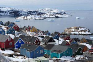 Il villaggio di Upernavik, in Groenlandia