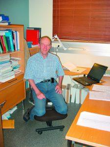 Lars Strom il giorno in cui è andato in pensione