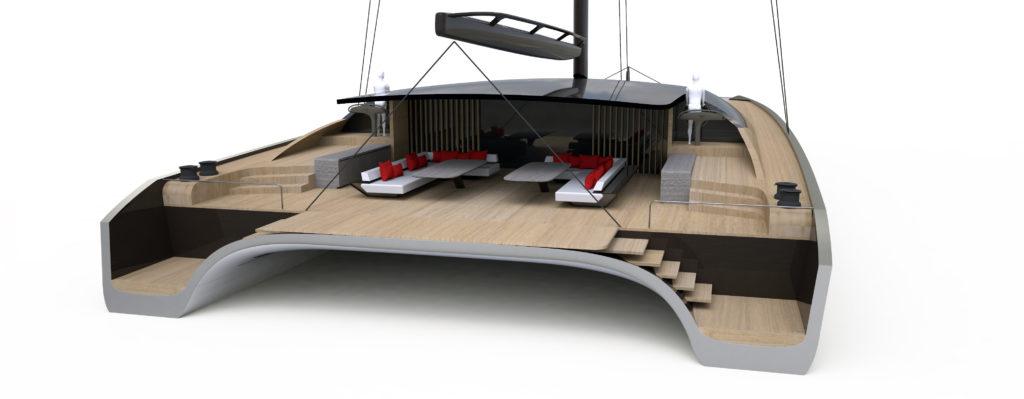 Blackcat 35 m arriva dal futuro il nuovo catamarano di for Catamarani di lusso