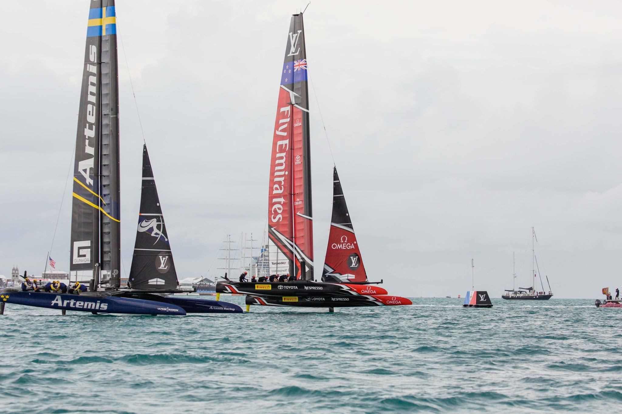 Vela, America's Cup: New Zealand in finale di Louis Vuitton