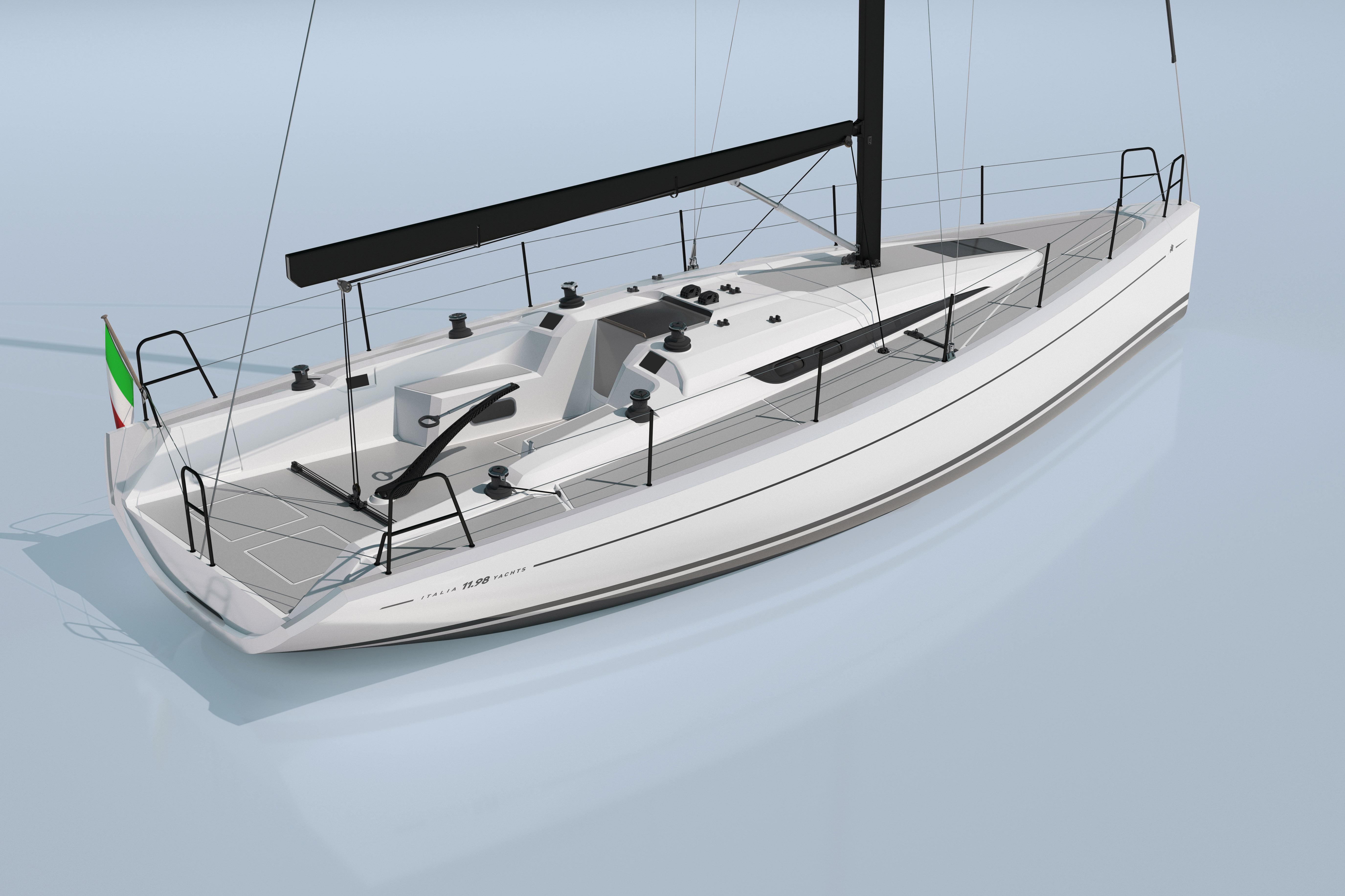 in diretta da d sseldorf italia yachts sta arrivando una star il cantiere si racconta. Black Bedroom Furniture Sets. Home Design Ideas