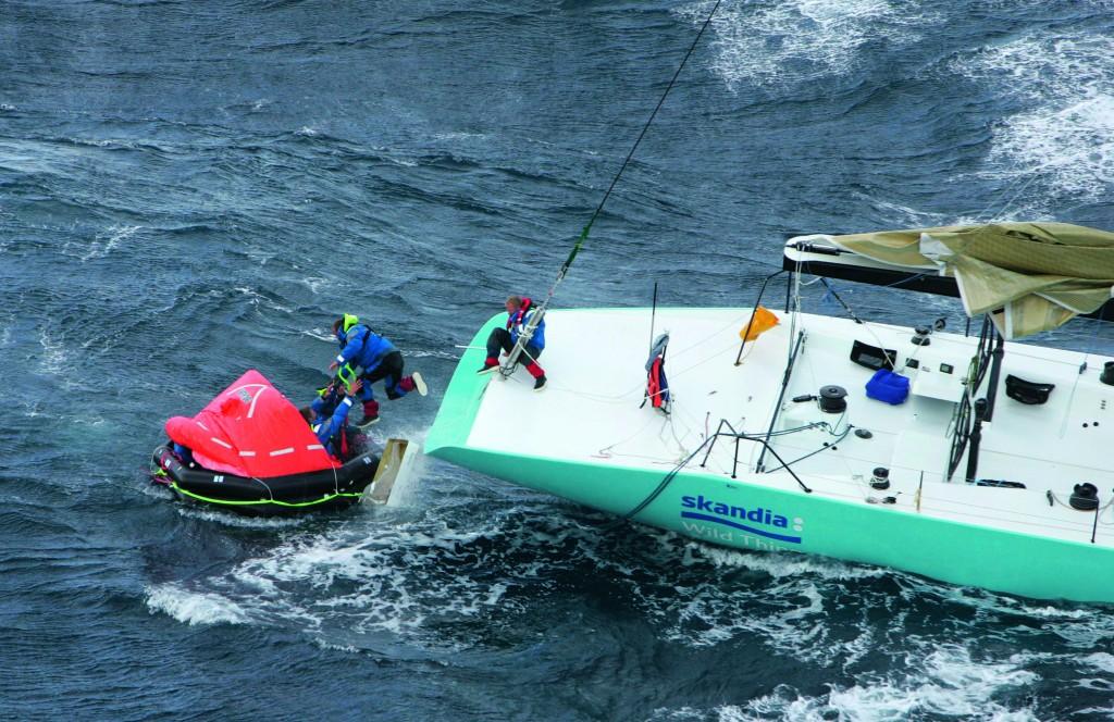zattera in barca