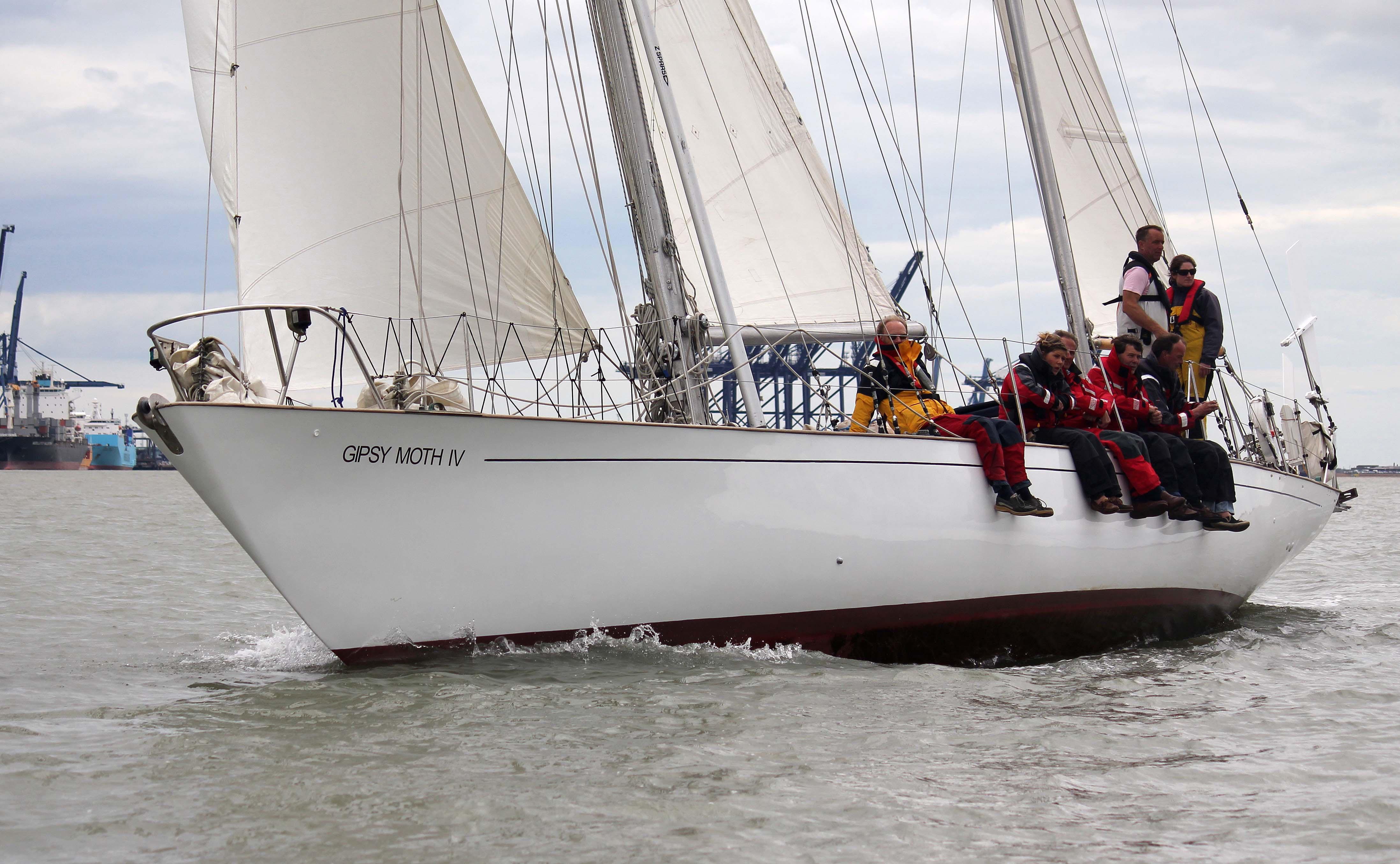 Gipsy Moth IV, la barca di Chichester che è diventata monumento