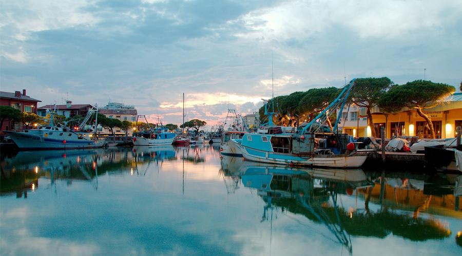 Il porto peschereccio di Caorle: