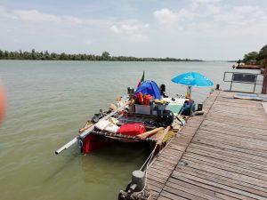 In the Po river