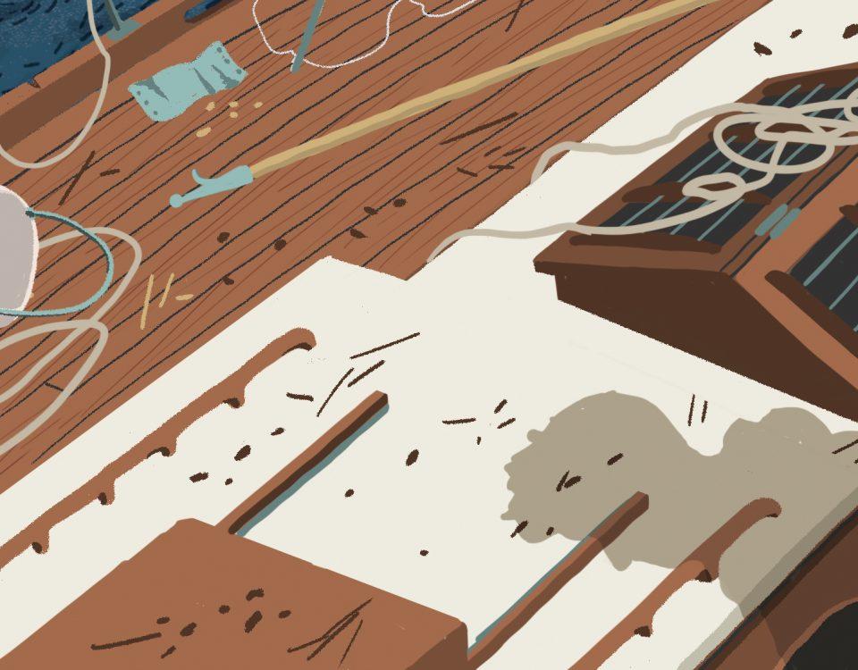 che cosa cerchiamo - Illustrazione di Luca Tagliafico