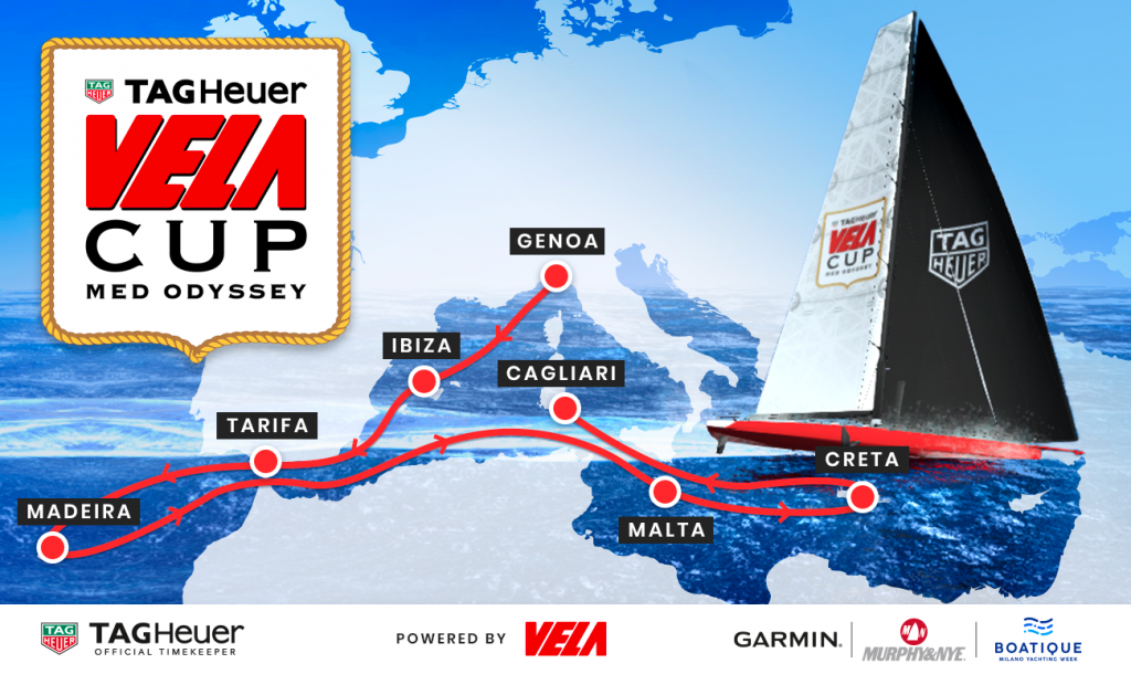 Vela Cup Med Odyssey Virtual Regata