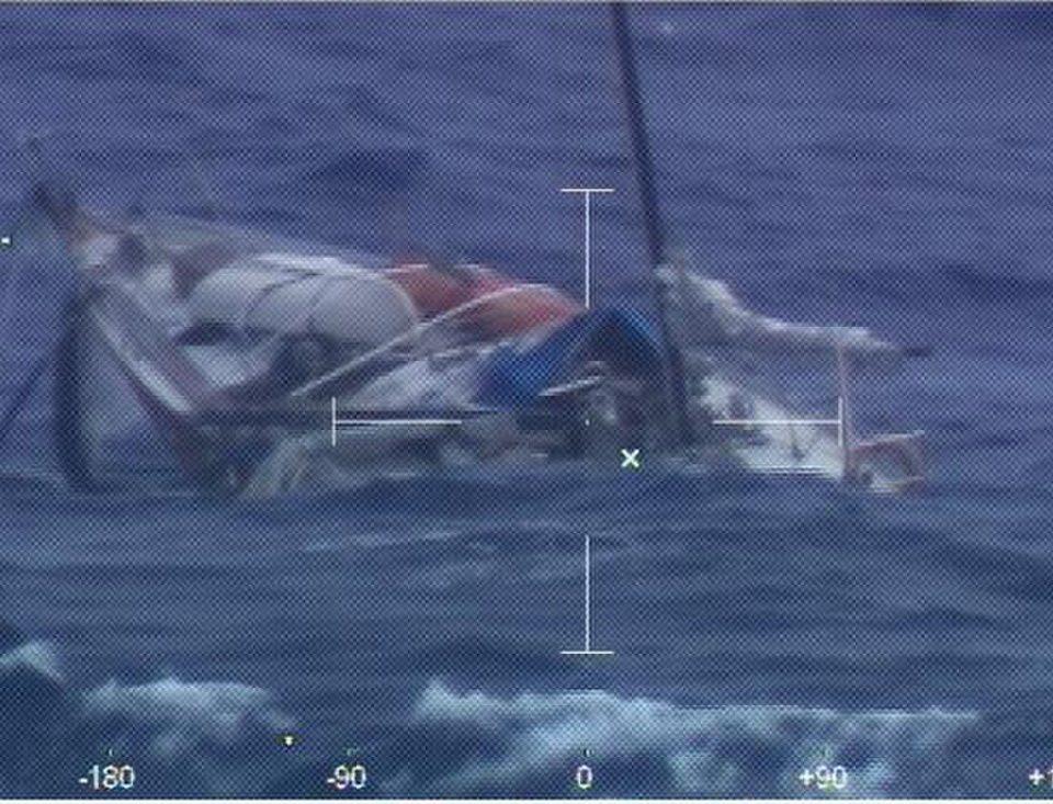 German sailor rescued