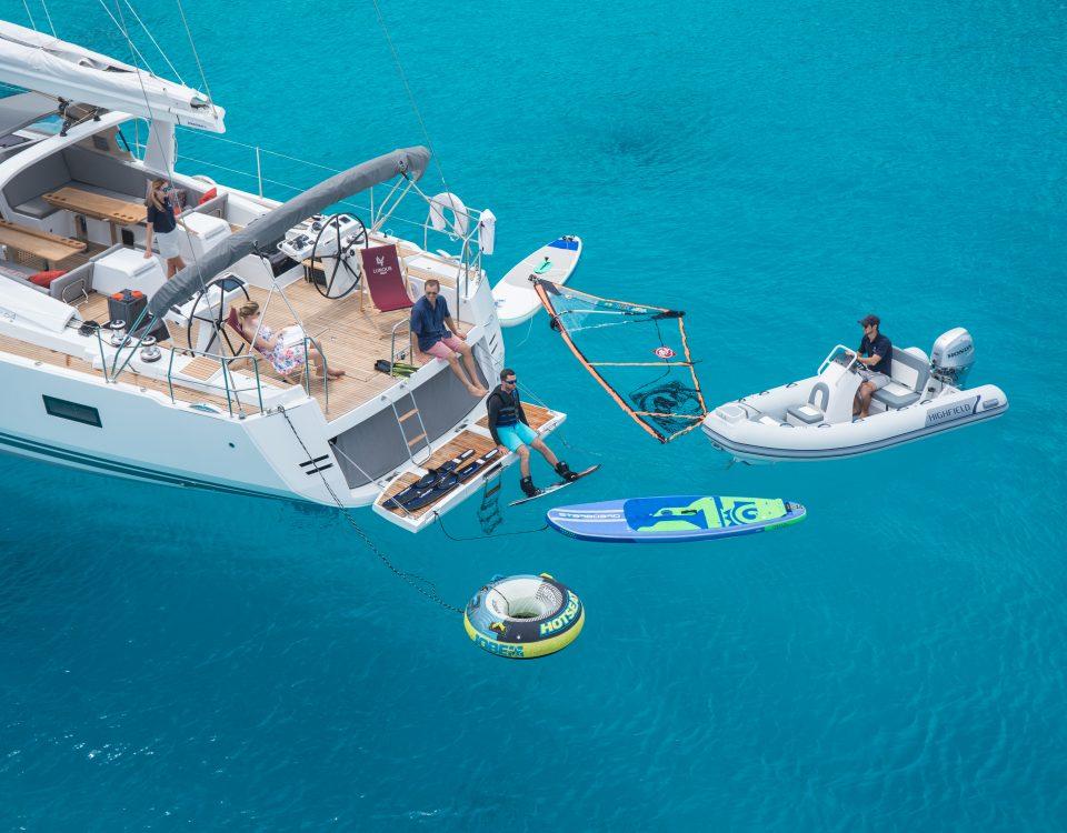 gonfiabili barca