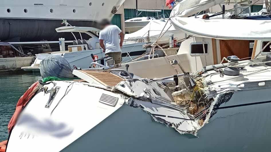 incidenti in barca