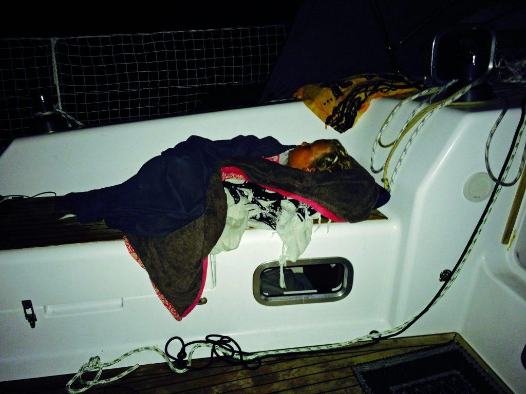 sleeping aboard