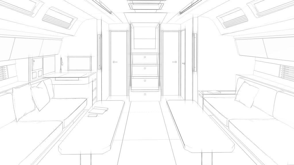 boat interiors